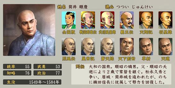 信長の野望・創造 戦国立志伝の筒井順慶