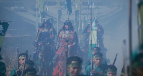 本国寺を襲撃にきた三好の兵士たち