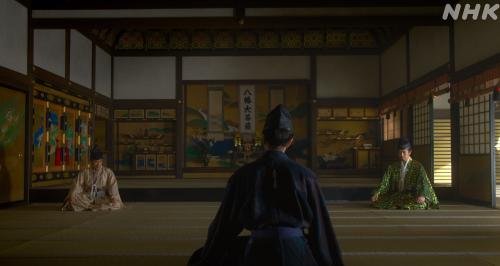 朝倉攻めは幕府は協力できないという摂津晴門と三淵藤英