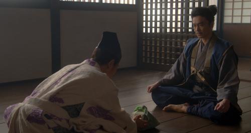 旅のお供にと藤吉郎が十兵衛に渡したのは妻・ねねが作ったお弁当