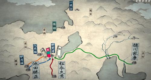 朝倉征伐のために徳川家康、池田勝正、松永久秀らが妙覚寺へ集結