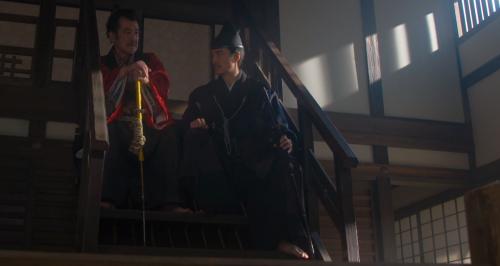 松永久秀と明智十兵衛光秀の座れ座ってますコント