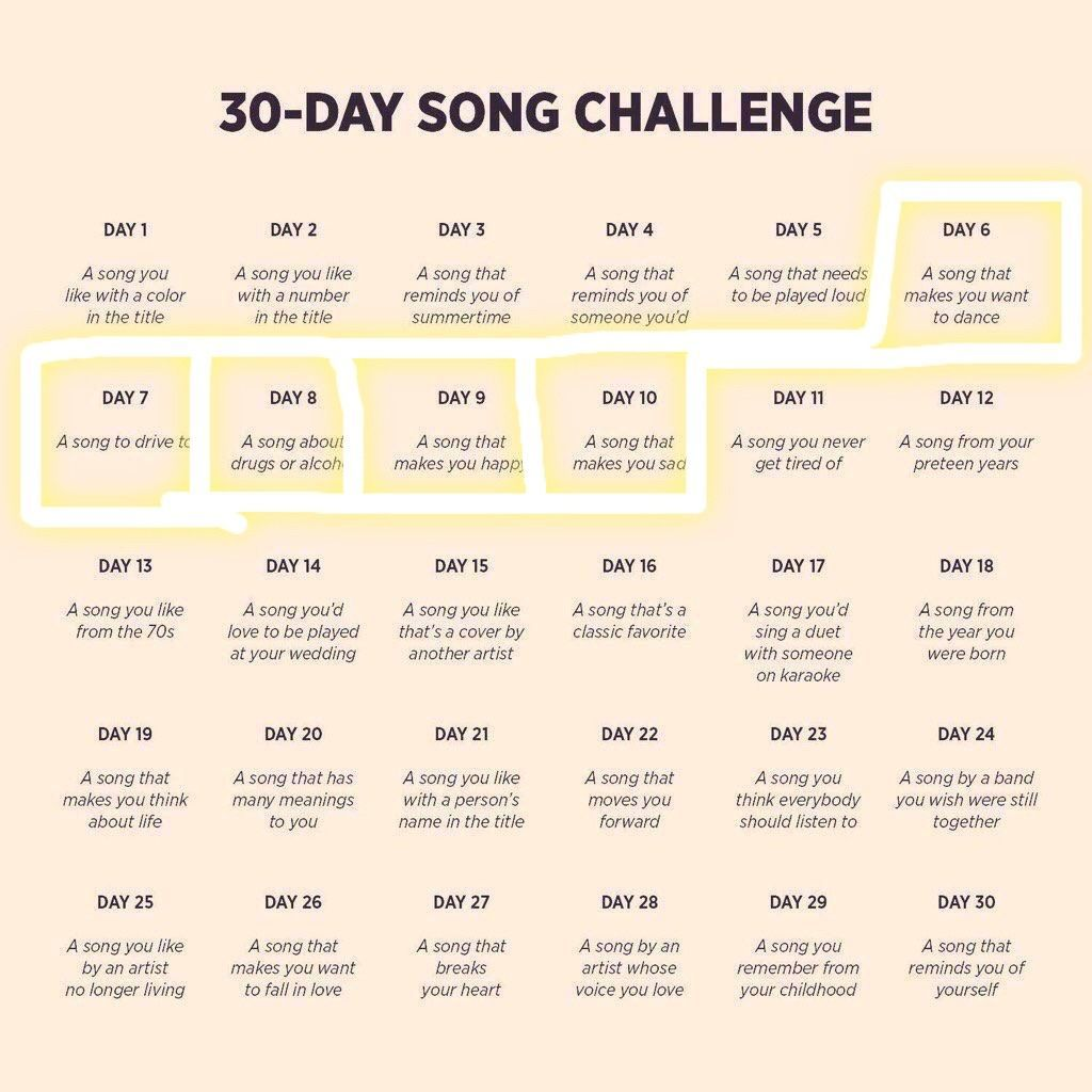 #30DaySongChallenge