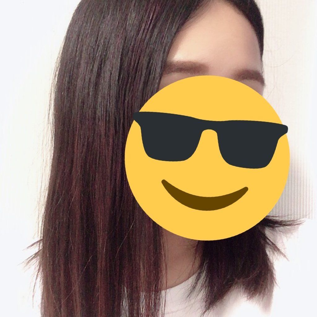ヘアモンスター 黒髪 パールロゼ