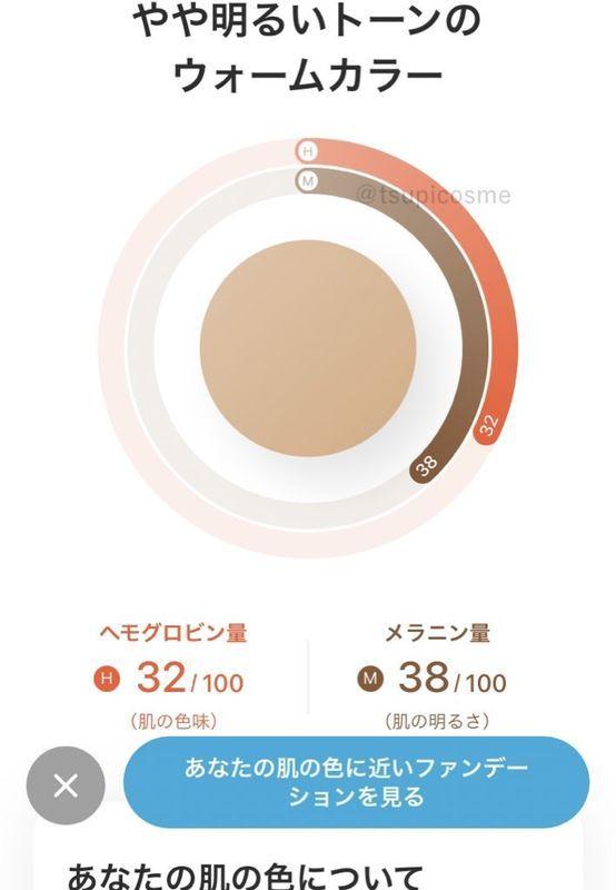ZOZOグラス 計測 肌の色味