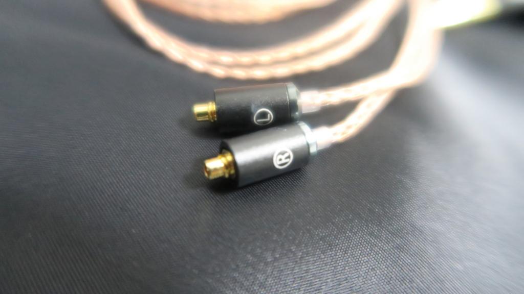 【バランス接続】ラディウス radius HC-OFC44K MMCX バランスケーブル 購入 レビュー