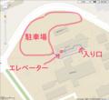 琉球大学 工学部1号館 地図その2