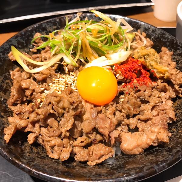 キッチン徳寿の塩タン丼