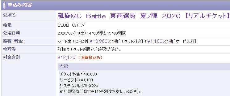 【凱旋2020夏ノ陣】大阪の春ノ陣は中止になったので、夏ノ陣をリアルチケットで見に行く