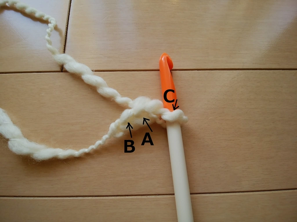 ひもの編み方1
