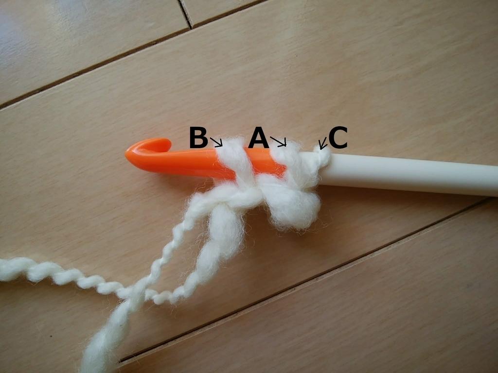 ひもの編み方2