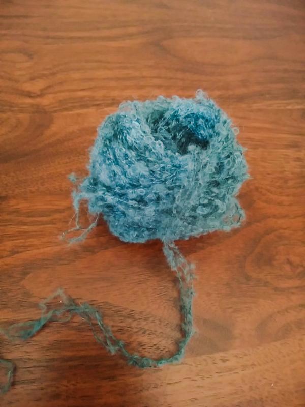 巻いた毛糸