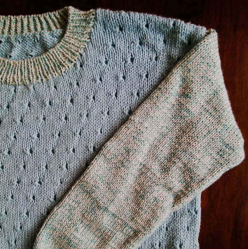 シルクウールのセーターの画像