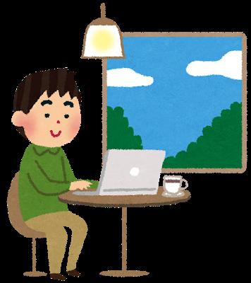 勉強している人の画像