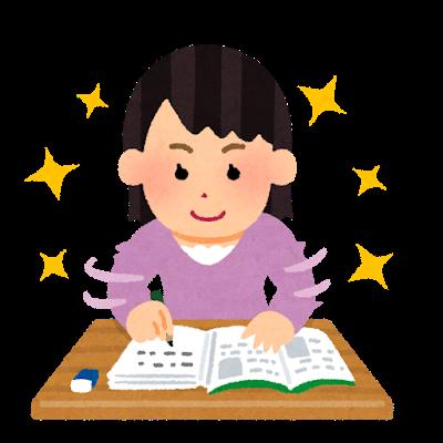 勉強が好調の人の画像