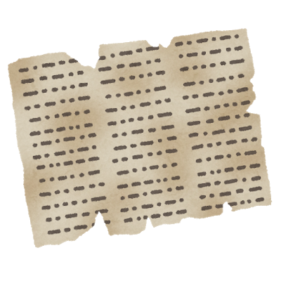 古文書の画像