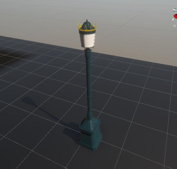 街灯のモデル画像