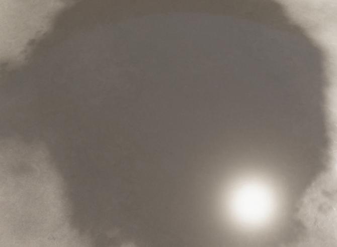 床に太陽が映り込んでいる画像