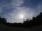 ドコモタワーと日暈