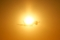 初日(はつひ)を背負って飛び立つ  2014/1/1 羽田空港にて