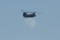 ヘリコプターに持ち上げられた月