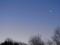 朝の金星、夜の月