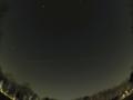 2014/2/25 林試の森で撮影したISS(国際宇宙ステーション) PENTAX Q+Fish