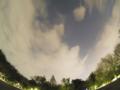2014/4/23 雲間のISS(国際宇宙ステーション) 林試の森 PENTAX Q+Fishe