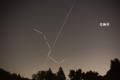 2014年8月21日 北斗七星を突き抜けるISS(国際宇宙ステーション)