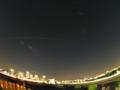 多摩川浅間神社からISS(国際宇宙ステーション) 2015/10/25 Pentax Q