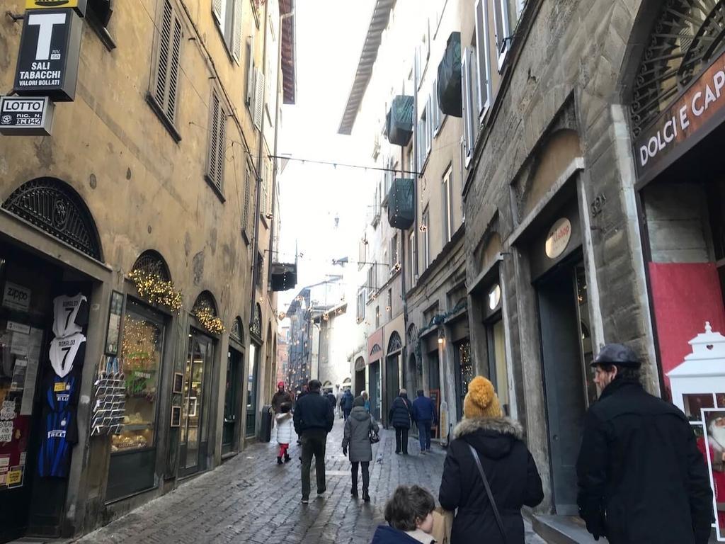 美しきベルガモチッタアルタの街並み