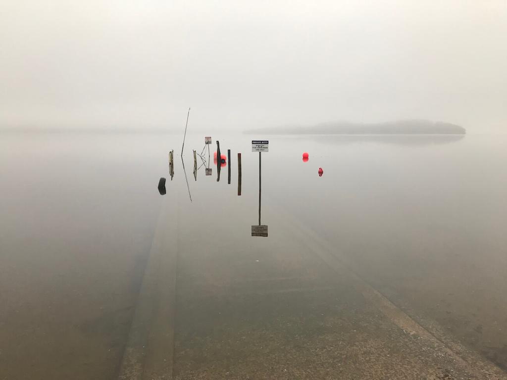 透明度の高い湖