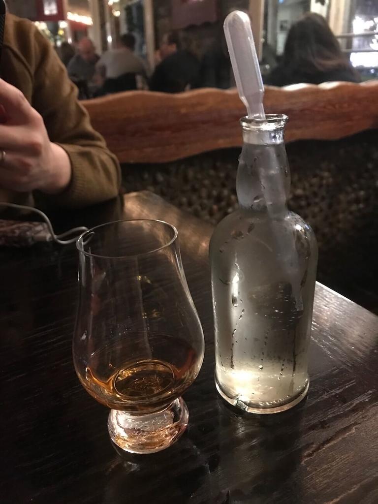 ウイスキーと謎のスポイト