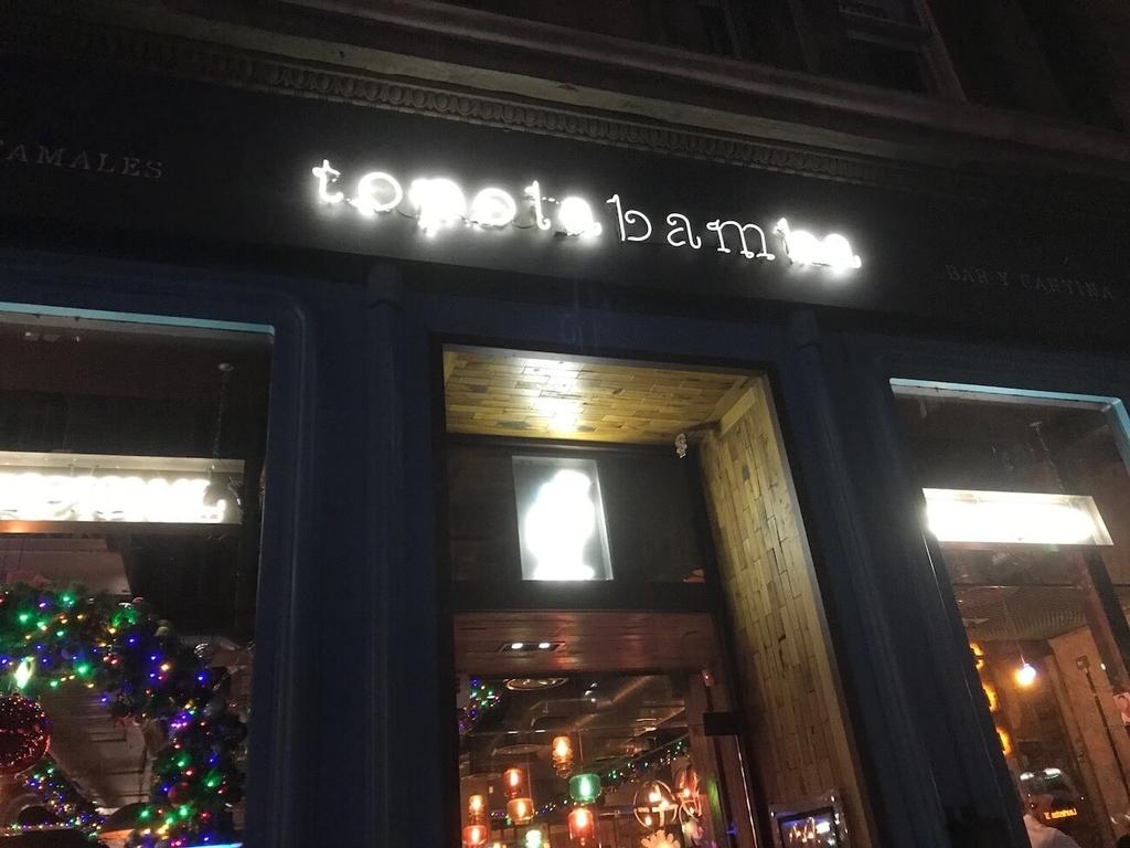 メキシカンの店「topolabamba」