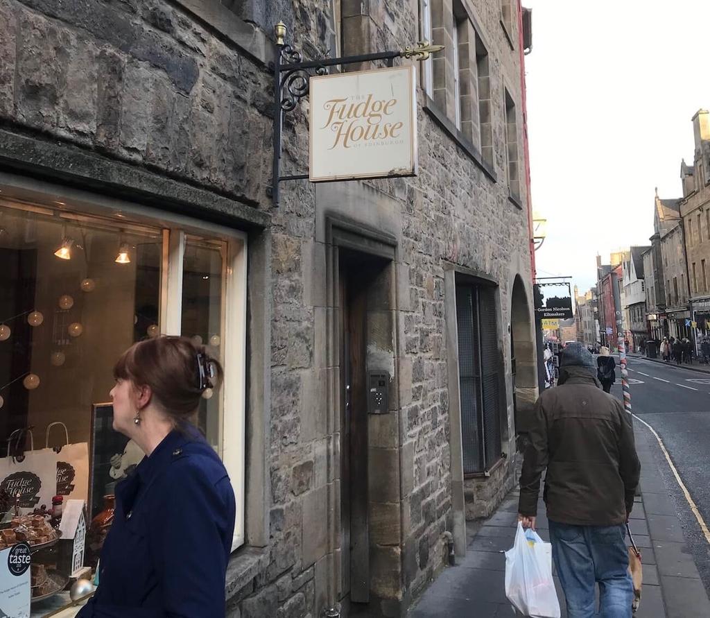 ファッジのお店。ハリーポッターでも出てくるとか。