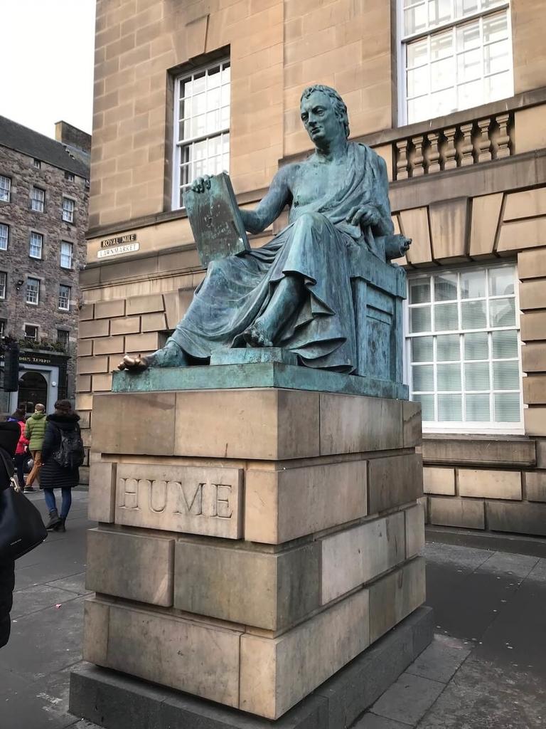 教科書にも出てくるデビッド・ヒューム(David Hume)