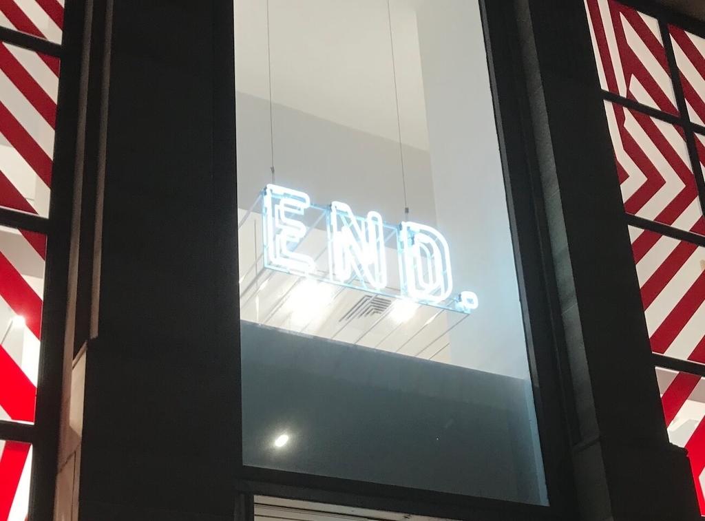遠藤が教えてくれたセレクトショップ「END.」