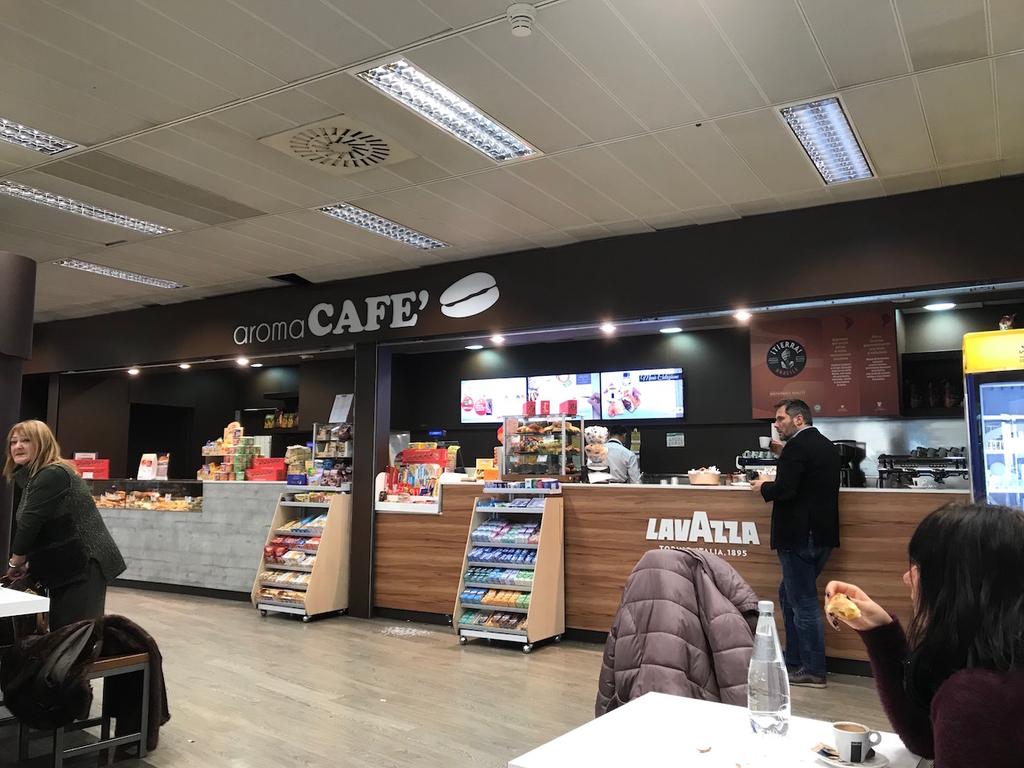 イタリア最後のカフェ