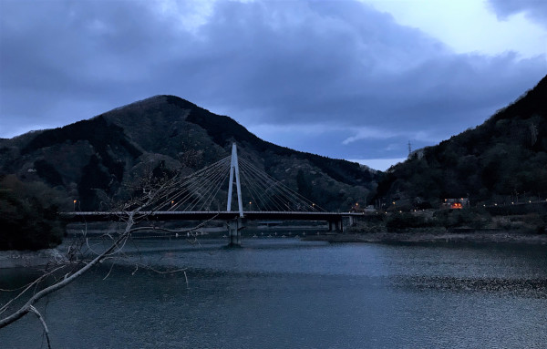 丹沢湖。神秘的。