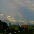 江ノ島の虹