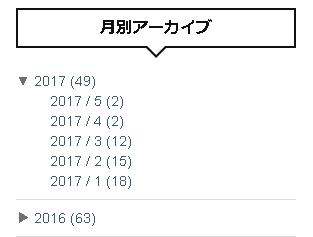 4月と5月の投稿記事数