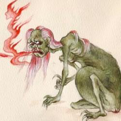 霊格による地獄は、仏教に通じる話