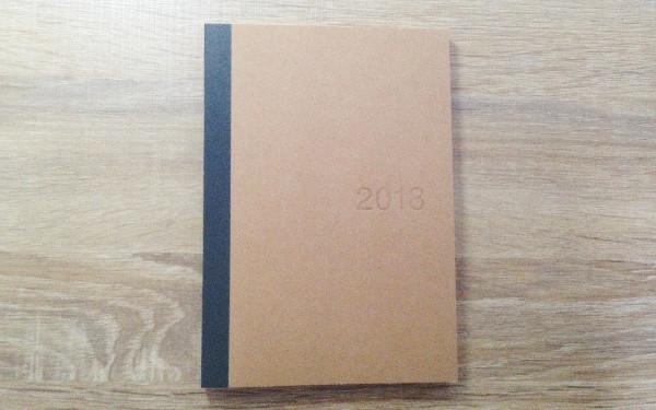 無印良品の手帳の表紙