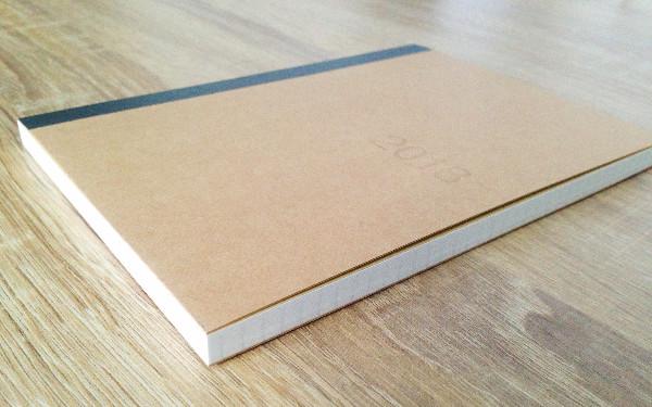 無印良品の手帳の厚さ