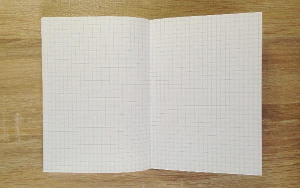 無印良品の手帳のメモページ