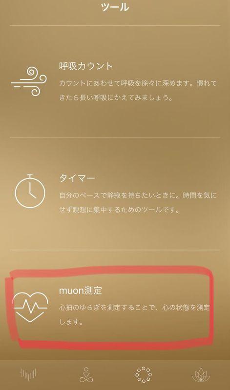 muonツール画面