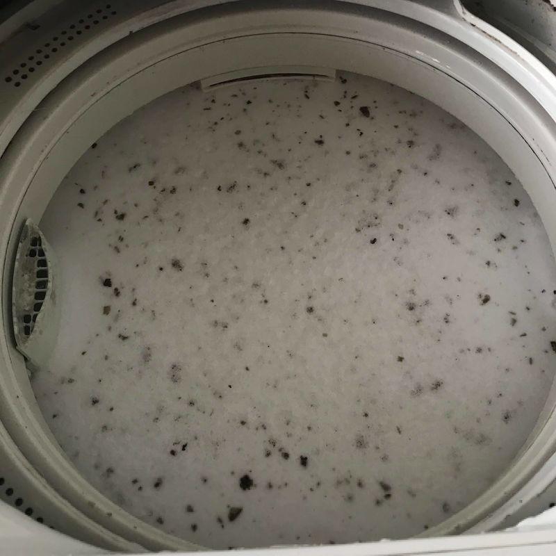 シャボン玉洗濯槽クリーナー 攪拌後