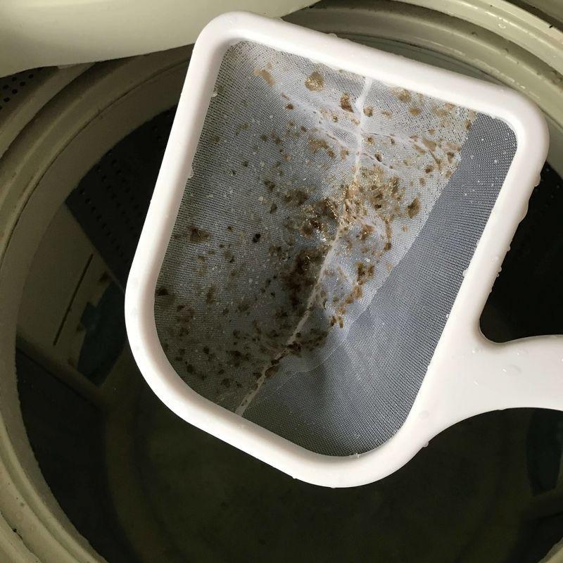 すすぎ後のカビ シャボン玉洗濯槽クリーナー