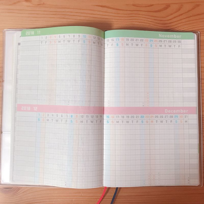 ジブン手帳 mini 月間プロジェクト