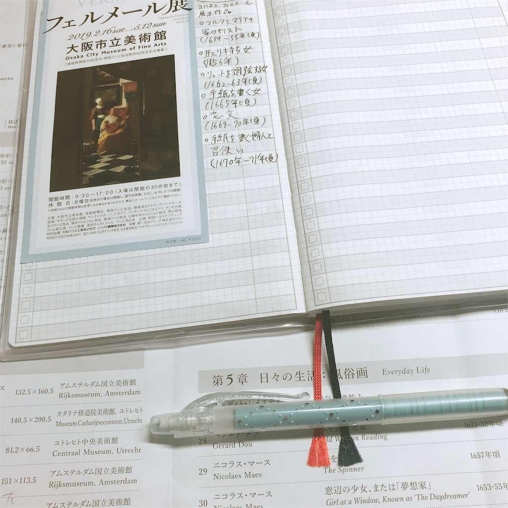 ジブン手帳 美術館